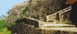 Restored Japanese Castle on Okinawa